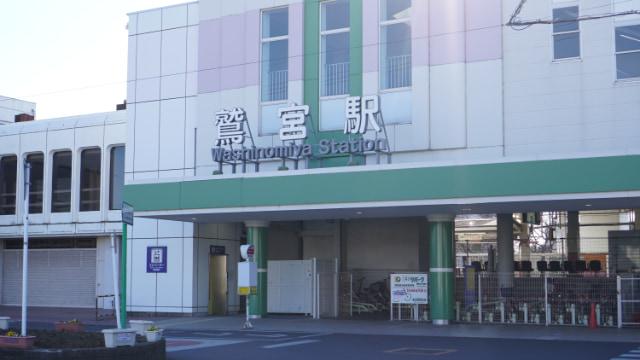 鷲宮駅。鷲宮神社の最寄り駅