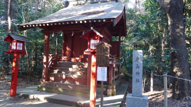 元旦の鷲宮神社。鹿島神社。